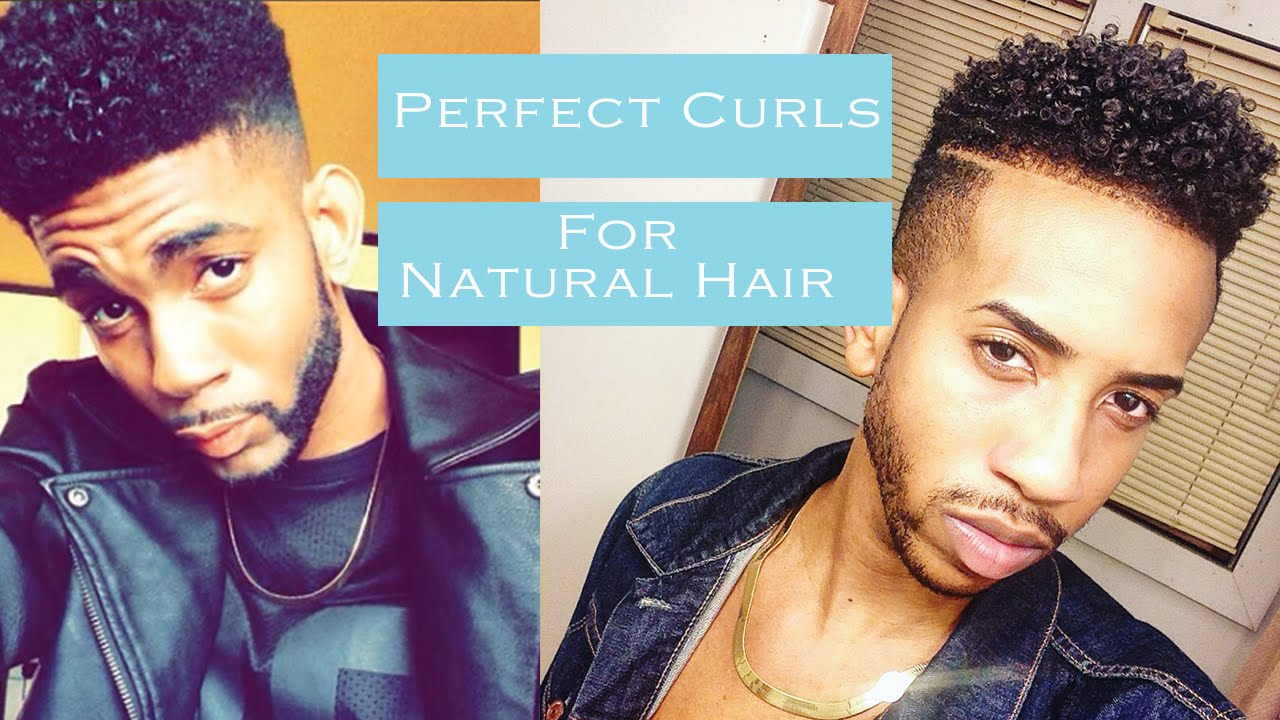 How To Get Perfect Curly Hair For Black Men Natural Dry Hair
