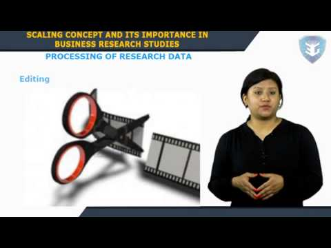 SCALING CONCEPT AND ITS IMPORTANCE IN BUSINESS RESEARCH STUDIES U