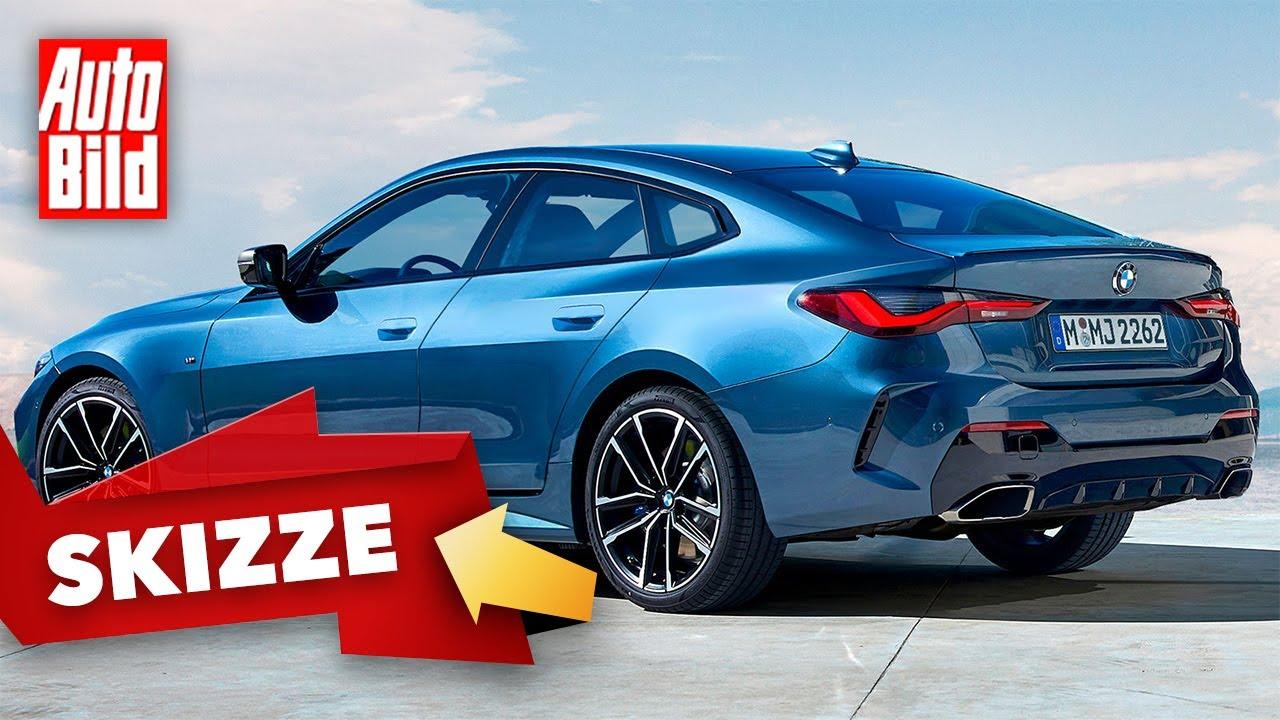 BMW 4er Gran Coupé (2021): Neuvorstellung - Skizze - Design - Info