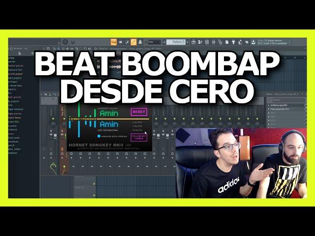 Como crear un BEAT BOOMBAP básico en FL STUDIO [ESPAÑOL] ⚡