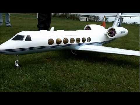 Hobbyking Gulfstream G500 EDF Model converted to gas ...