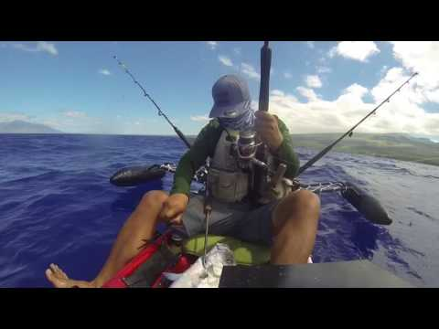 Maui Kayak fishing 4/7/17