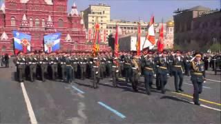 Кремлевские курсанты на Параде Победы 9 мая 2013г.