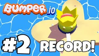 INSANE BUMPER KILLS! New World Record! | Bumper.io Part 2 (IOS/Android New .io Game)