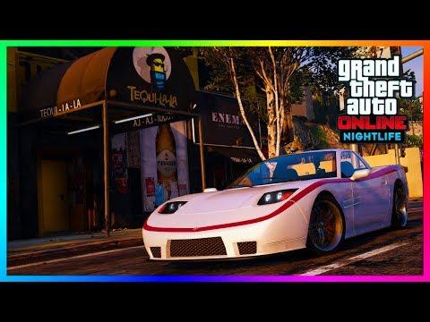 GTA Online Nightlife DLC Update - Nightclub Vehicles, Super Cars, NEW Weapons & MORE! (GTA 5)