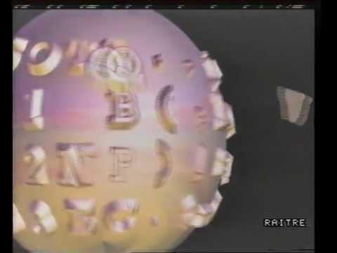 """Raitre - """"Tg3"""" Sigla 1987-99"""