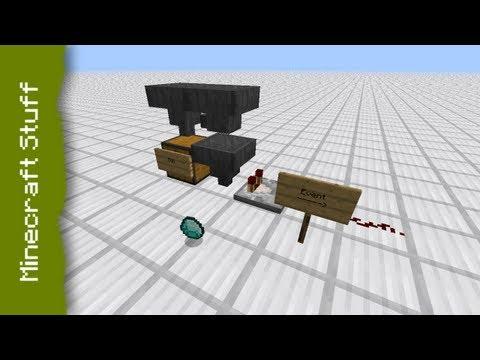 minecraft tutorial schl sselsystem doovi. Black Bedroom Furniture Sets. Home Design Ideas