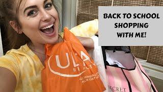 BACK TO SCHOOL SHOPPING W/ ME | Shopping at Target, Ulta, PINK, & MORE