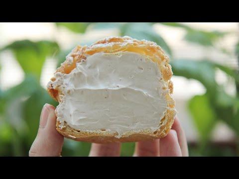 [4K VIDEO] Earl Grey Cream Puffs : Choux au Craquelin :Honeykki 꿀키