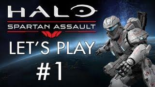 Halo: Spartan Assault - Part 1 - Mission A1 (Let