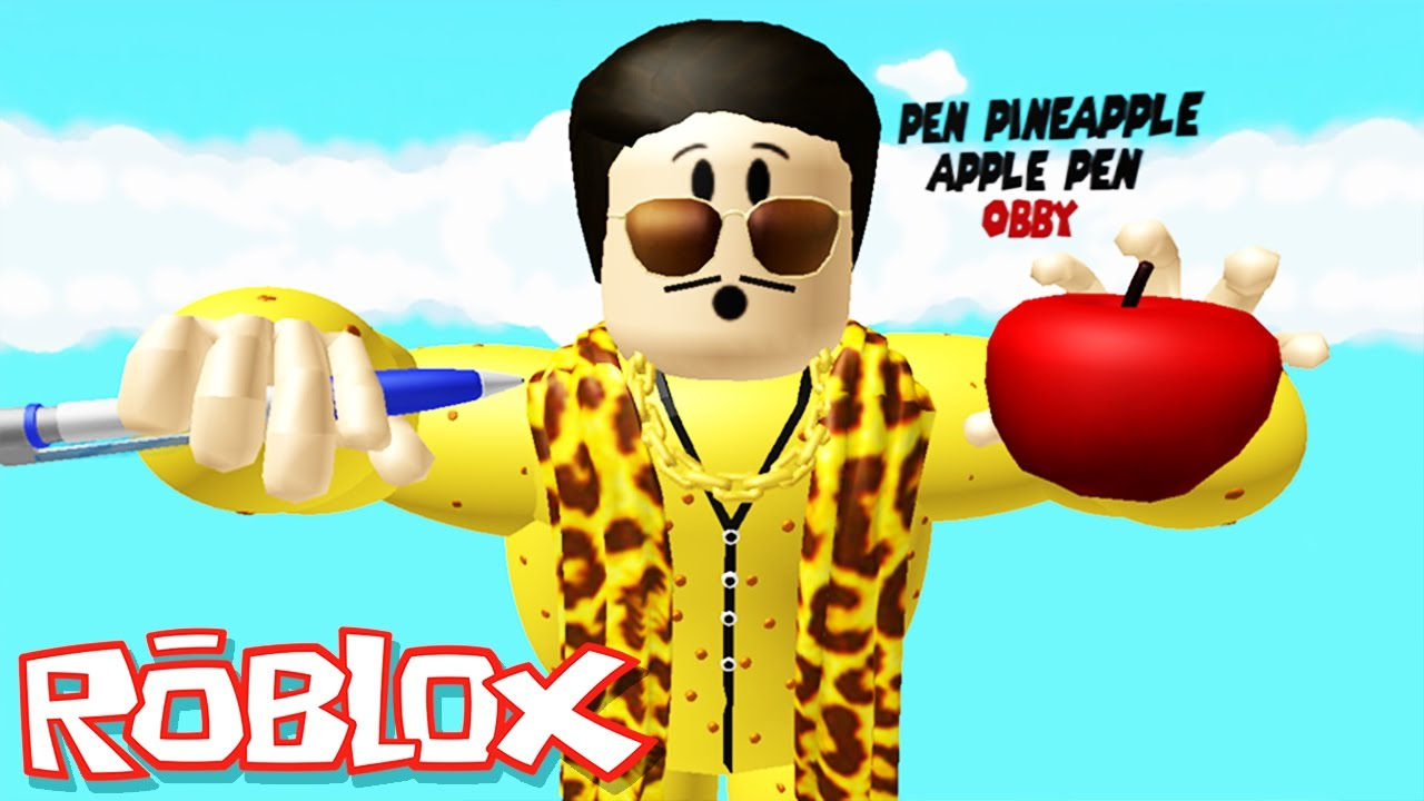 Roblox Adventures / Pen Pineapple Apple Pen Obby / Giant