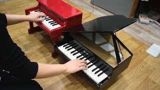 어린이 피아노로 재능낭비.. 토이피아노 2대로 연주하는 플링크 플랭크 플렁크 (KORG & KAWAI)