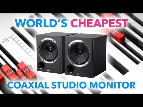 World's CHEAPEST Coaxial Studio Monitors from Monoprice