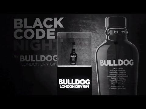 Black Code Night Sutton - BULLDOG GIN