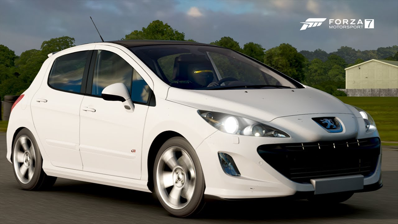 2011 PEUGEOT 308 GTI Gameplay Around The TOP GEAR FULL ...