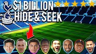 CRAZY Hide And Seek Football Competition in $1 BILLION TOTTENHAM HOTSPUR STADIUM