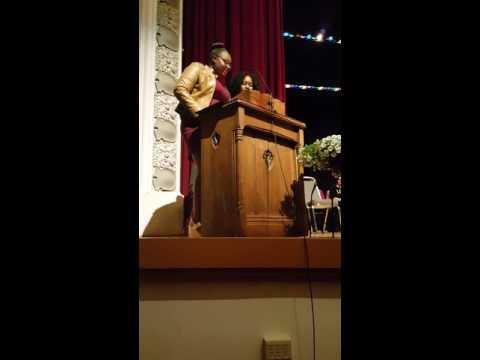 Dr. A. James Davis Life Changers Scholarship presentation- May 10, 2016