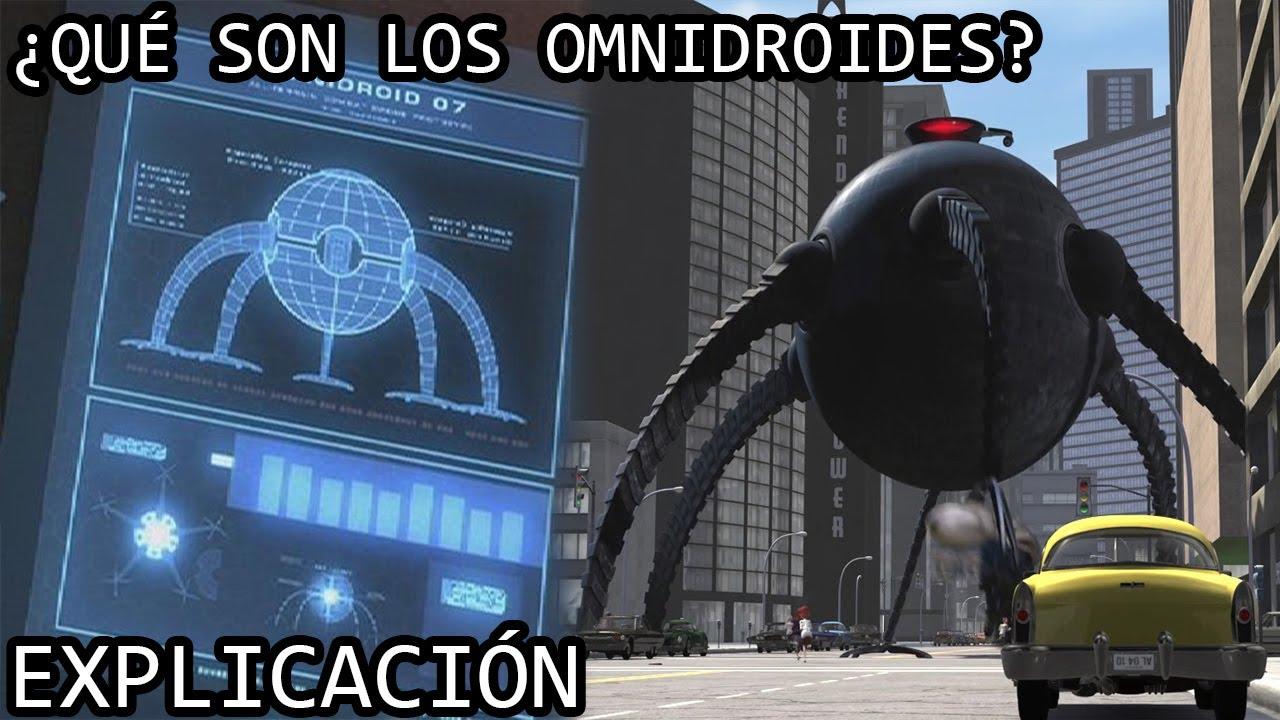 ¿Qué son los Omnidroides? | Los Omnidroides 9000 de Los Increibles y su Evolución Completa EXPLICADA