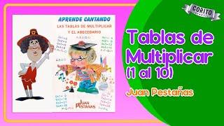 TABLAS DE MULTIPLICAR 📕📗JUAN PESTAÃ'AS DEL 1 AL 10 ðŸ�...