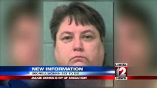 Judge declines to halt execution of female inmate in Georgia