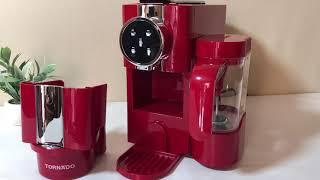 تورنيدو مكينة قهوة بالكبسولات | مراجعة - تجهيز - تجربة استخدام صادمة