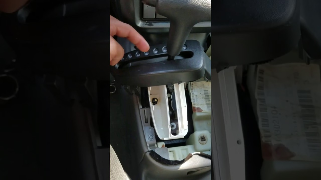 hight resolution of how to replace 2004 pontiac aztek accessory shifter light
