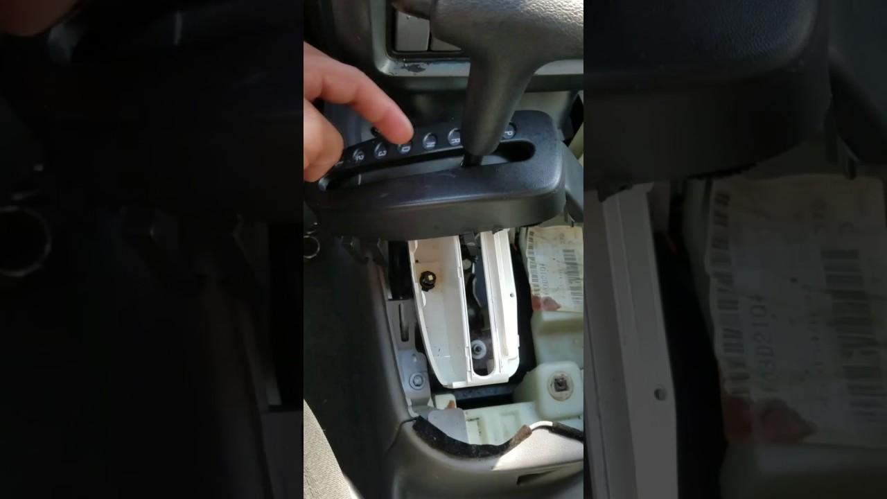 how to replace 2004 pontiac aztek accessory shifter light [ 1280 x 720 Pixel ]