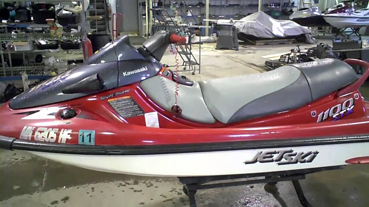 1997 Kawasaki STX 1100 LOT 809A - YouTube