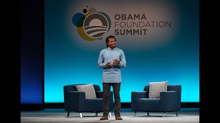 Obama Foundation Africa Leader and Sierra Leone's Chief Innovation Officer David Sengeh