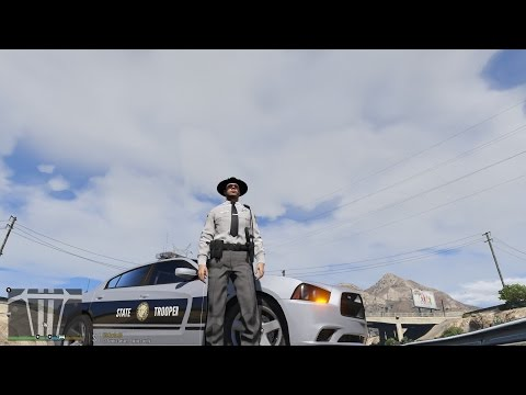 GTA V LSPDFR NC HIGHWAY PATROL TROOPER REAPER #GIVE AWAY