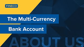 Fineco. the multi-currency bank.