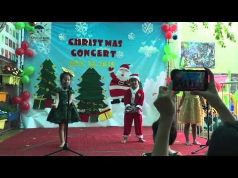 Recitation: Christmas story Pre kinder 2 Global Kids Kindergarten