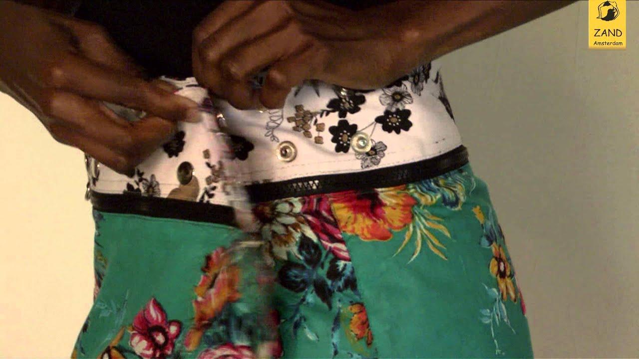 Zand Amsterdam skirts; one size fits all! - YouTube