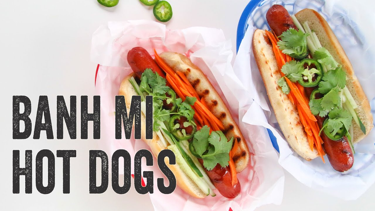 banh mi banh mi hot dog at buldogis gourmet hot dogs banh mi hot dogs ...
