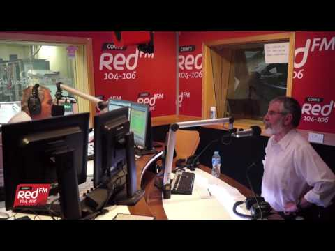 Neil Prendeville Speaks to Gerry Adams | Cork's Red FM 104-106 FM