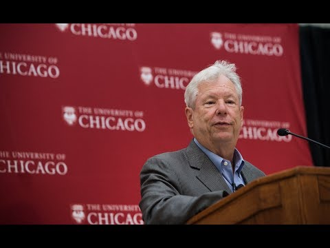 Chicago Booth celebrates Nobel winning economist, Richard Thaler