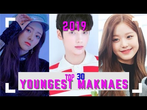 Top 30 Youngest Maknaes in KPOP  2019
