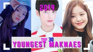 Baixar Top 30 Youngest Maknaes in KPOP || 2019