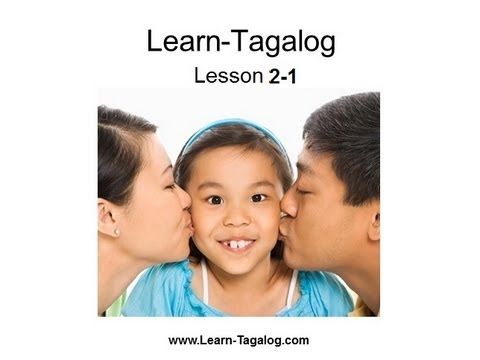 Learn Tagalog Lesson 2-1