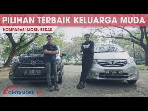 Komparasi Mobil Bekas Antara Honda Freed E 2013 VS Toyota Sienta V 2016 | Cintamobil TV