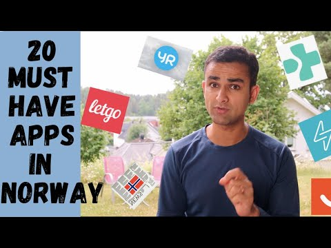 20 MUST HAVE PHONE APPS IN NORWAY | BEST EVERYDAY APPS TO USE IN NORWAY | Norway Indian Vlog