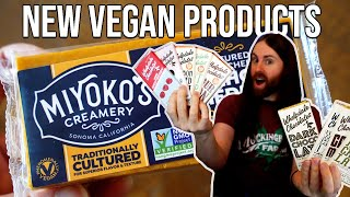 Check Out These BRAND NEW Vegan Products