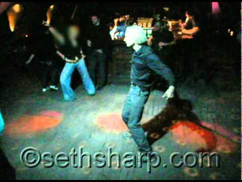 Julian Assange Dancing at a night club in Reykjavik