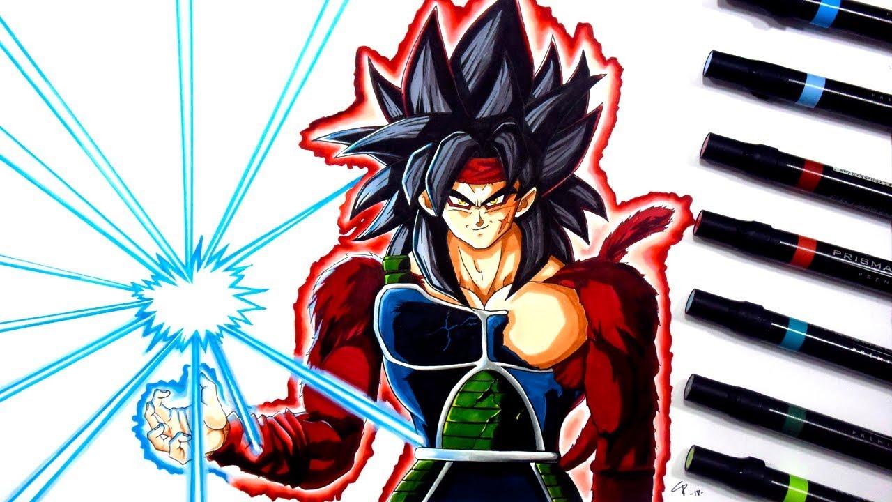 Cómo Dibujar A Bardock Ssj4 Paso A Paso Dragon Ball Heroes Drawup Youtube