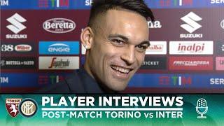 TORINO 0-3 INTER | LAUTARO + DE VRIJ + DIMARCO EXCLUSIVE INTERVIEWS [SUB ENG]