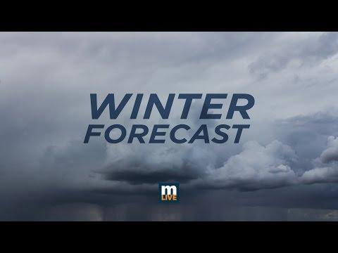 Michigan Winter Forecast 2016  - 2017