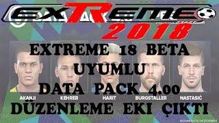 Extreme 18 Beta İçin Data Pack 4.00 Düzenlemesi Çıktı
