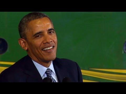President Obama Signs The 2014 Farm Bill