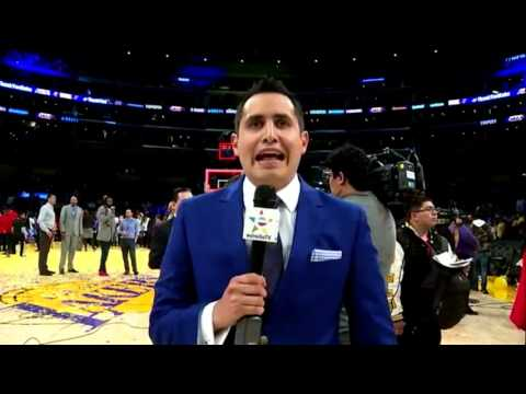 El Adios de Kobe Bryant con Francisco X. Rivera