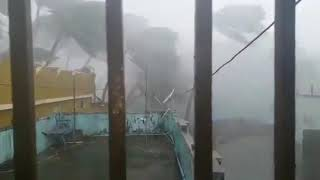 Cyclone FANI en Inde : Violentes rafales à Puri